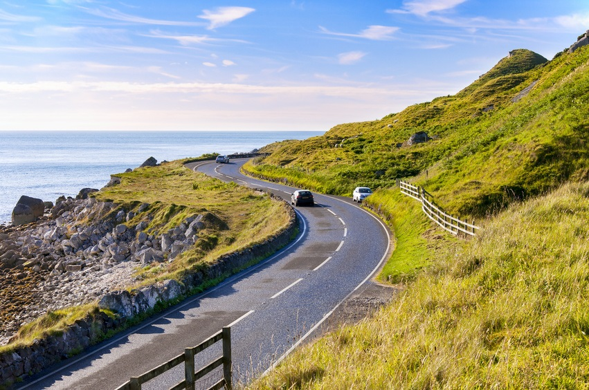 Antrim coast road.